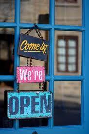 come in we are open - Buscar con Google