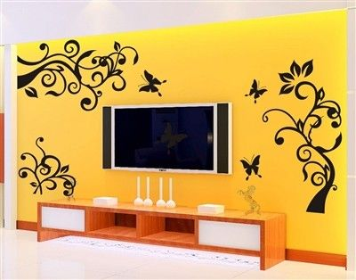 Floral Wall Decals Wall Stickers Wall Art from Picsity.com