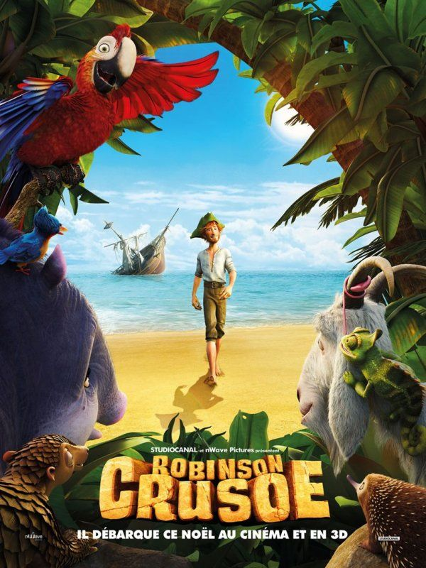 Robinson Crusoé (2016) - la critique du film d'animation pour les plus petits