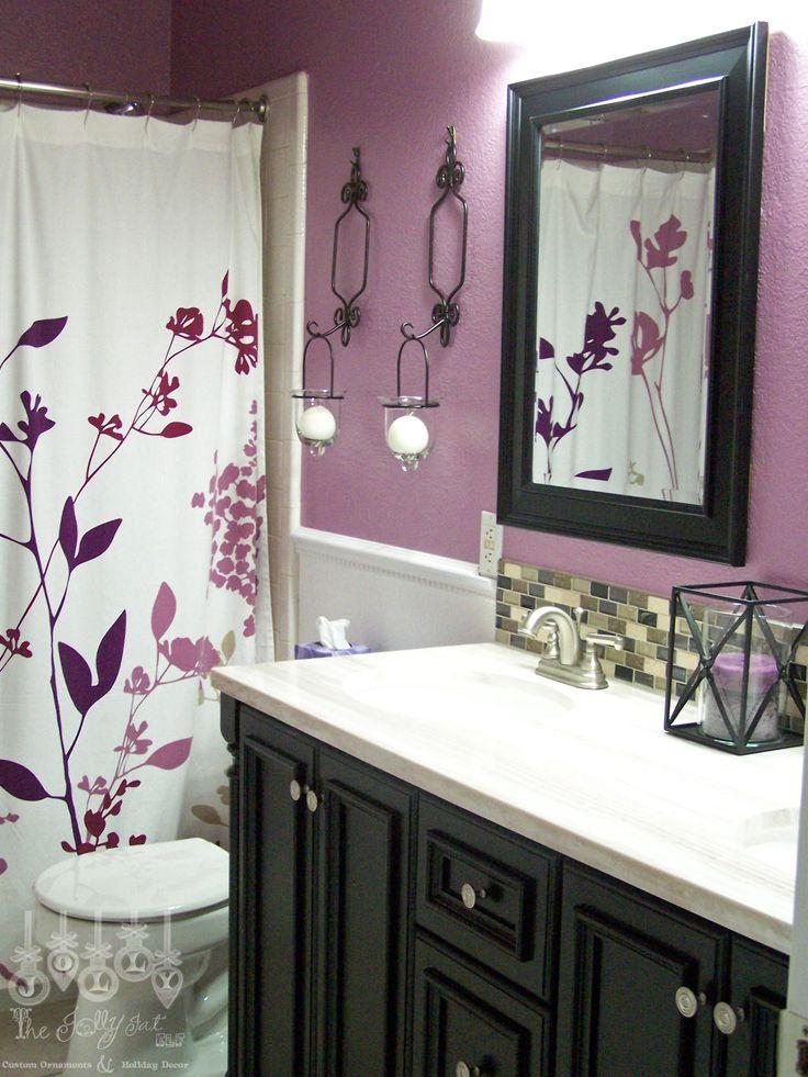 Best 25 Purple Bathrooms Ideas On Pinterest Purple Bathroom Decorations Purple Bathroom
