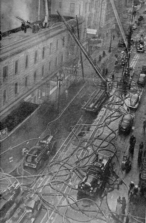 1946 Herbert Hotel Aerial View