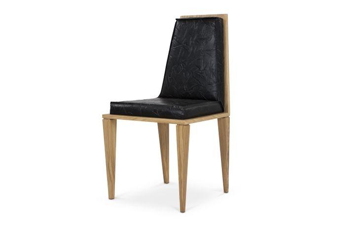 SEXTO CHAIR #BrahmansHome #BrahmansFiveElements #Brahmans #sexto #chair #dining #leather #wood #oak #design #interiordesign #interiors #luxury #furnitue #collection #home #inspirations #packshots