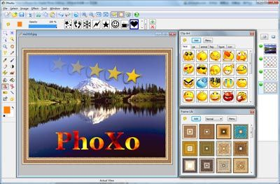 PhoXo - Free Software for Digital Photo Editing