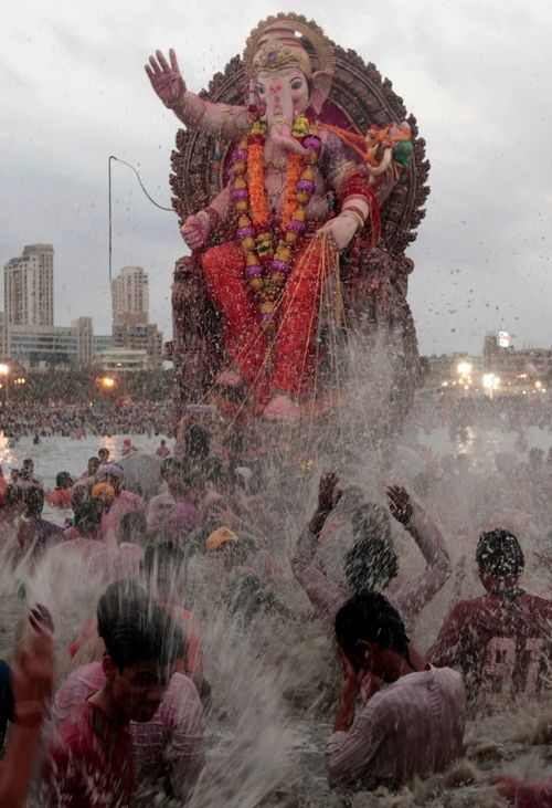 Ganesh celebrations in India