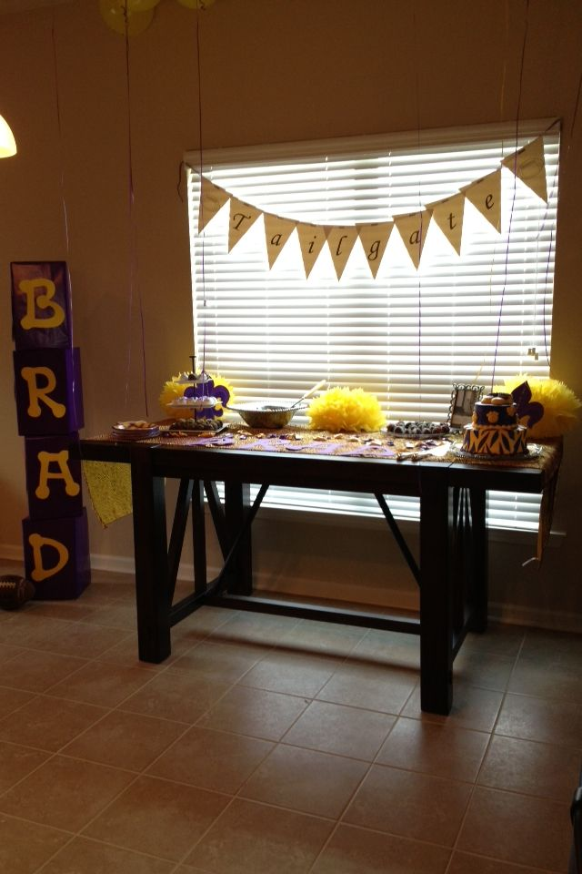 46 Best Images About LSU Baby Shower On Pinterest Baby