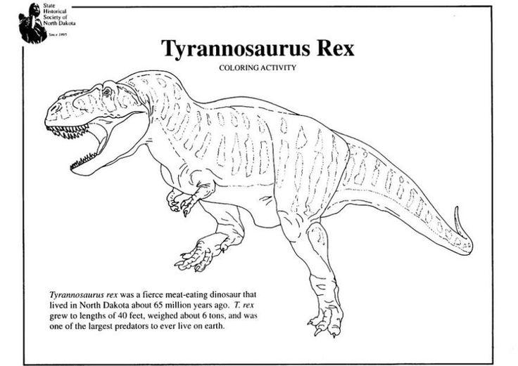 t rex ausmalbild  ausmalbilder für kinder  ausmalen