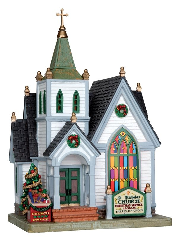 27 Best Christmas Village Collection Images On Pinterest