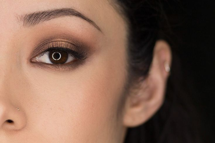 Chocolate Eyeshadow Look  •  Free tutorial with pictures on how to create a makeup look in under 15 minutes