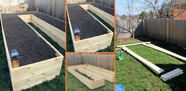 Learn How to Build A U-Shaped Raised Garden Bed