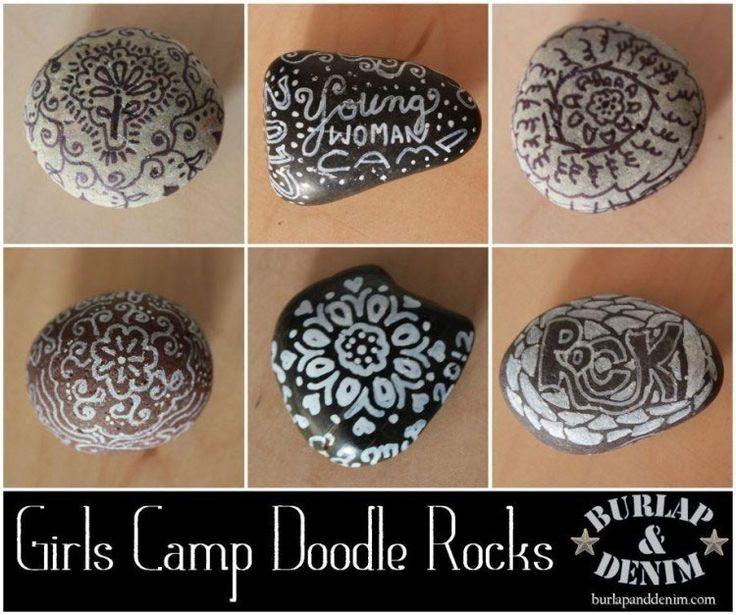Girls Camp Doodle Rocks                                                       …