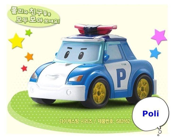 Robocar Poli Die-Cast Kids Toy Diecasting Figure Series Korea TV Animation -Poli #Academy