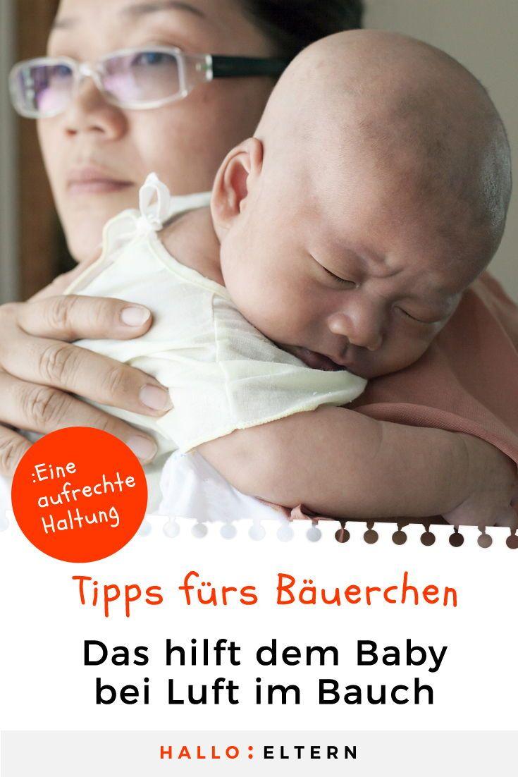 Säugling spuckt