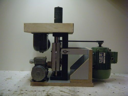 Shopmade woodworking machinery #1: Shopmade oscillating spindle sander - by corydoras @ LumberJocks.com ~ woodworking community