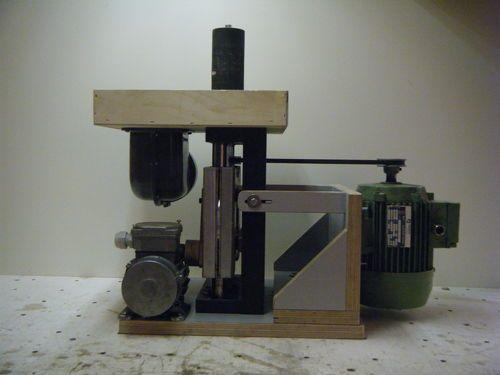 Shopmade woodworking machinery #1: Shopmade oscillating spindle sander - by corydoras @ LumberJocks.com ~ woodworking community
