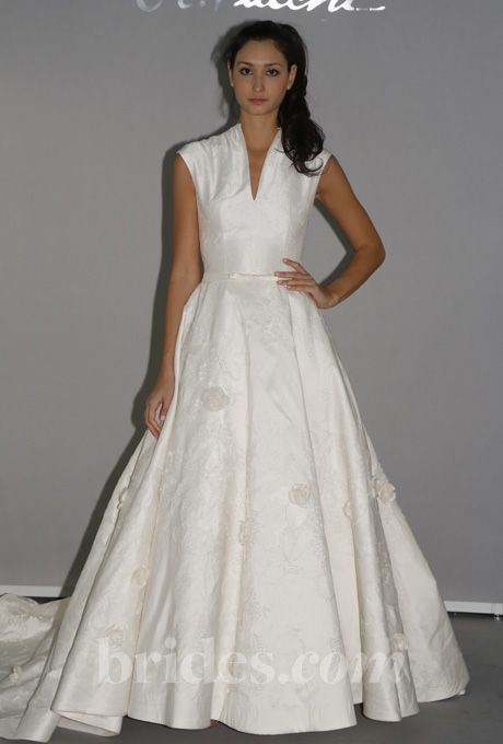 Preppy wedding gowns for the second time around wedding for Wedding dresses second time around brides