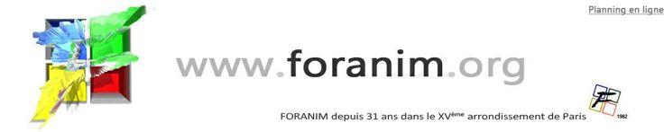 Lutherie et Artisanat d'Art. FORANIM, Centre culturel : 48, rue Bargue BL3. 75015 Paris. 01 47 83 79 59 / info@foranim.org