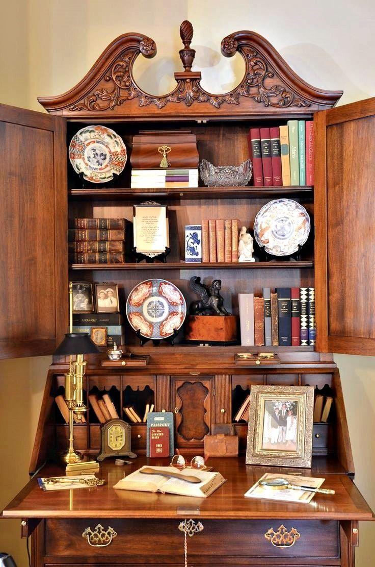 25+ best Antique Secretary Desks...