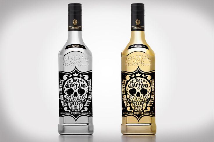 Jose Cuervo 220th Anniversary Limited Edition Metallic Bottles