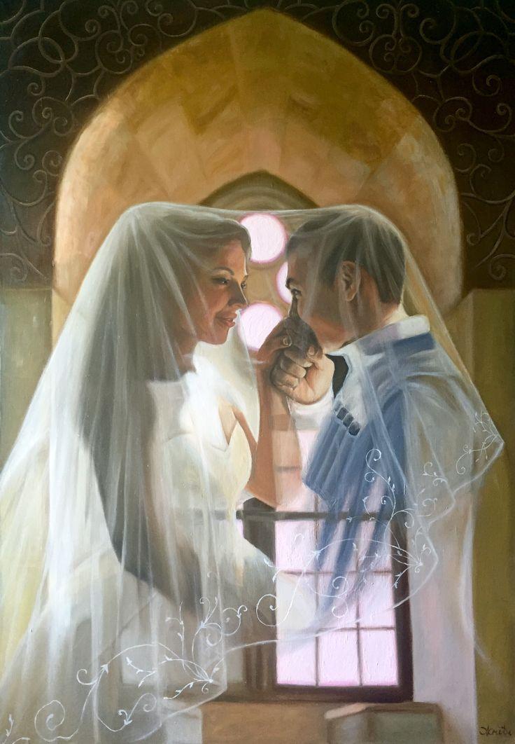 #рисунок #картина  #искусство  #art #painting #drawing #wedding #love Painting by Yulia Malahova https://www.instagram.com/amita_art