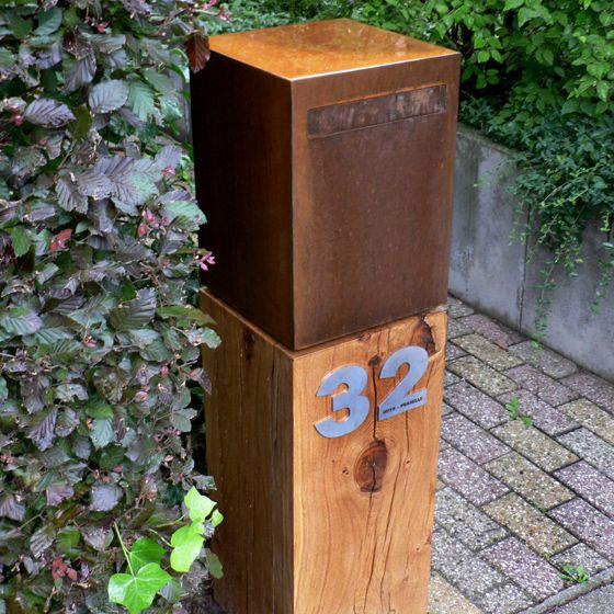 Cortenstaal-Brievenbus-WoodCube-01.jpg 560×560 pixels