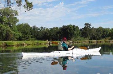 Kayaking the Serene Waters of Mokelumne River http://www.paddlingcalifornia.com/article_mokelumne_river.html