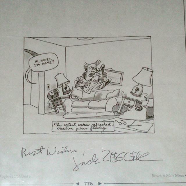With best wishes from Jack Ziegler The Complete Cartoons of