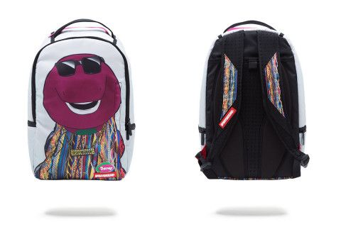 Sprayground's Biggie Barney Backpack Will Make You Feel Like a Kid Again | Highsnobiety