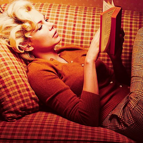 Michelle Williams as Marylin Monroe