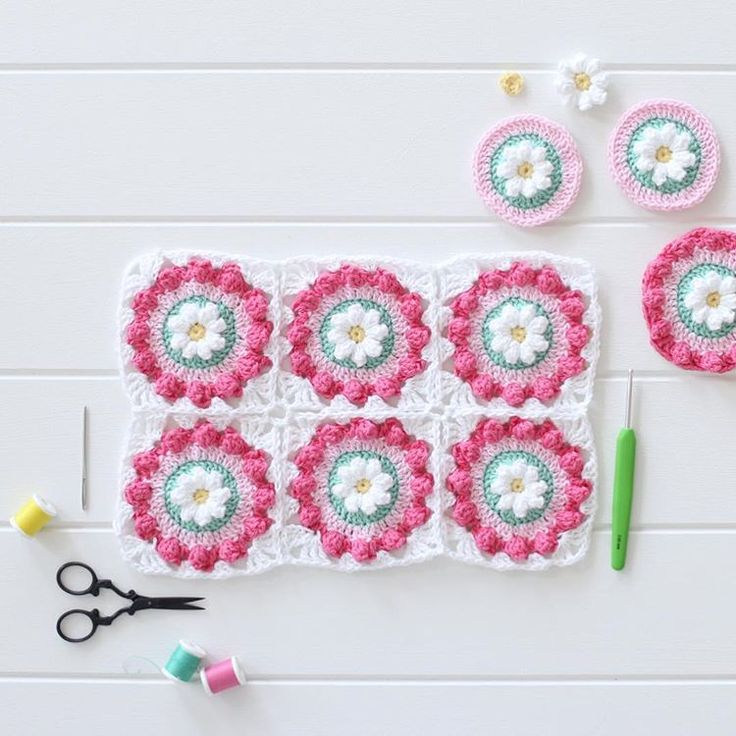 305 mejores imágenes de Crochet granny square en Pinterest ...