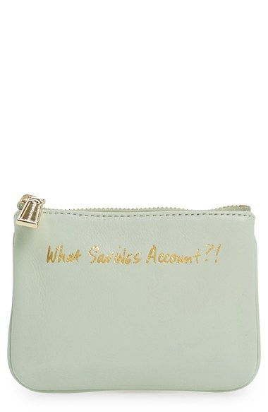 Rebecca Minkoff 'Cory - What Savings Account?!' Pouch available at #Nordstrom