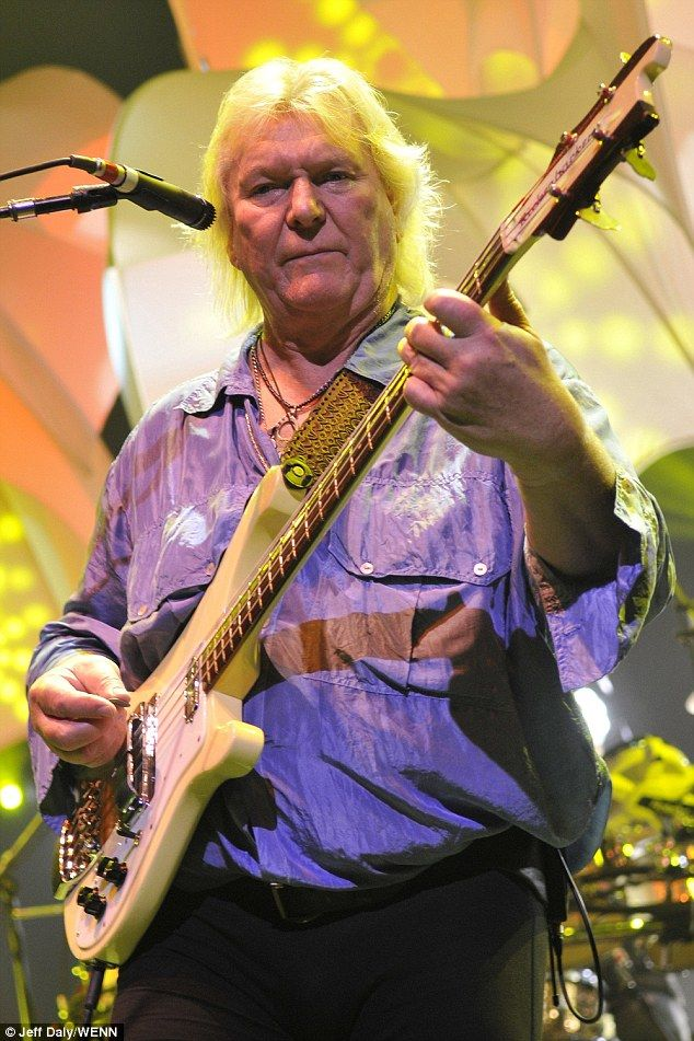 Gone too soon:Chris Squire, the bassist and co-founder of the progressive rock band Yes, died at the age of 67 on Saturday in Phoenix