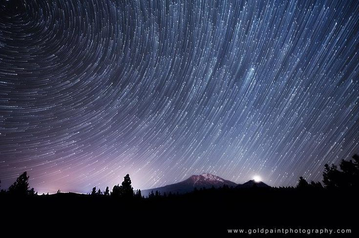 Three years of night sky wonders in three minutes - PhotoBlog (Brad Goldpaint)Cor-De-Rosa Photo, Bradgoldpaint, Stars Trail, National Parks, Slow Motion, Mount Shasta, Brad Goldpaint, Night Sky, Photography