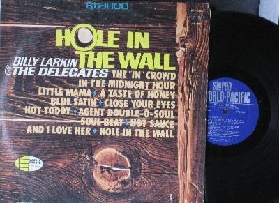 Hole in the Wall - Billy Larkin - good album