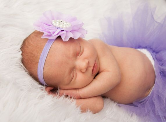 Lavender Newborn tutu Infant Baby Girl Tutu WITH a by SnugAWoo, $28.00