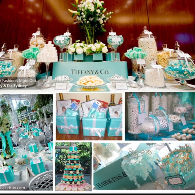 "Adorable!!! If we have a girl next... A Tiffany and co baby shower might be the theme!!! I love it!!! Found some bags on CL too. For a ""breakfast at Tiffany's"" photoshoot for my daughter :)"