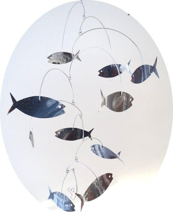 79 best art ed kinetic art images on pinterest alexander calder kinetic art sculpture mobile school painted fish calder aluminum metal solutioingenieria Choice Image
