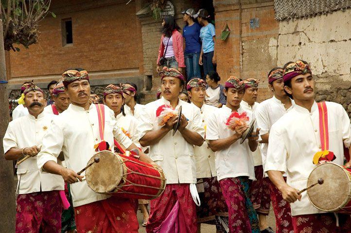 Usaba Sambah Ceremony held in Tenganan, Bali.