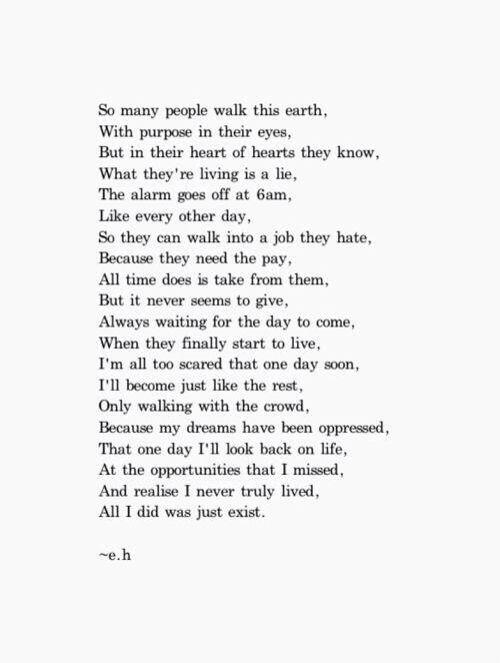Exist by Erin Hanson