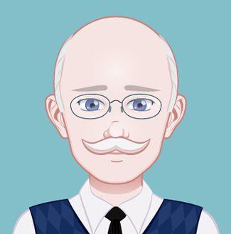 Este es el entrañable Mr. Sweet, el responsable que Sara, la prota de Cupcakes en Manhattan, cambie su vida. Para saber más sobre el personaje http://www.olgadellera.com/personajes-cupcakes-en-manhattan/