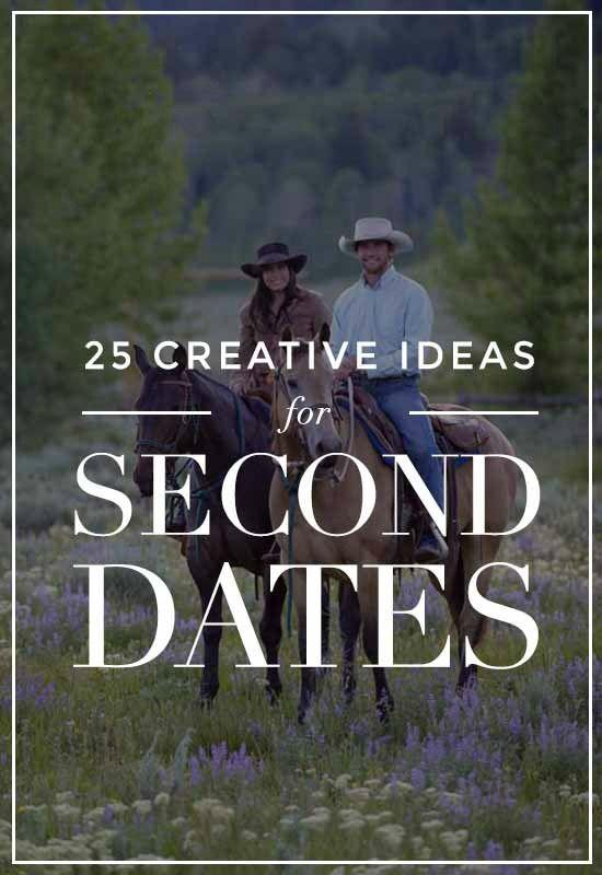 25 Creative Second Date Ideas