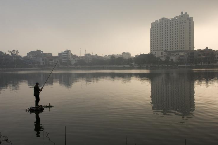 Fishing i Vietnam