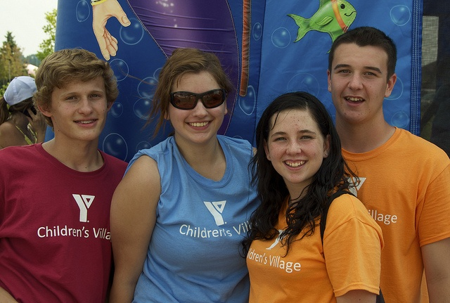 New friends at The YMCA Children's Village at Kempenfest