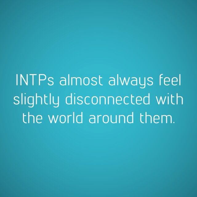 INTP - disconnected