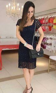 Загадочная бразильянка- ажурное платье из мотивов крючком