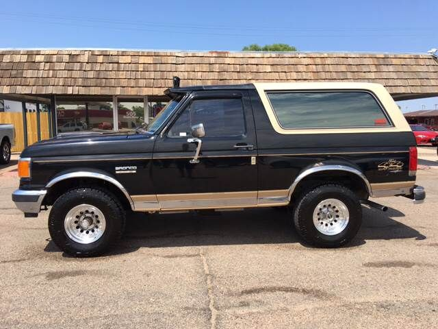 Used 1989 Ford Bronco For Sale