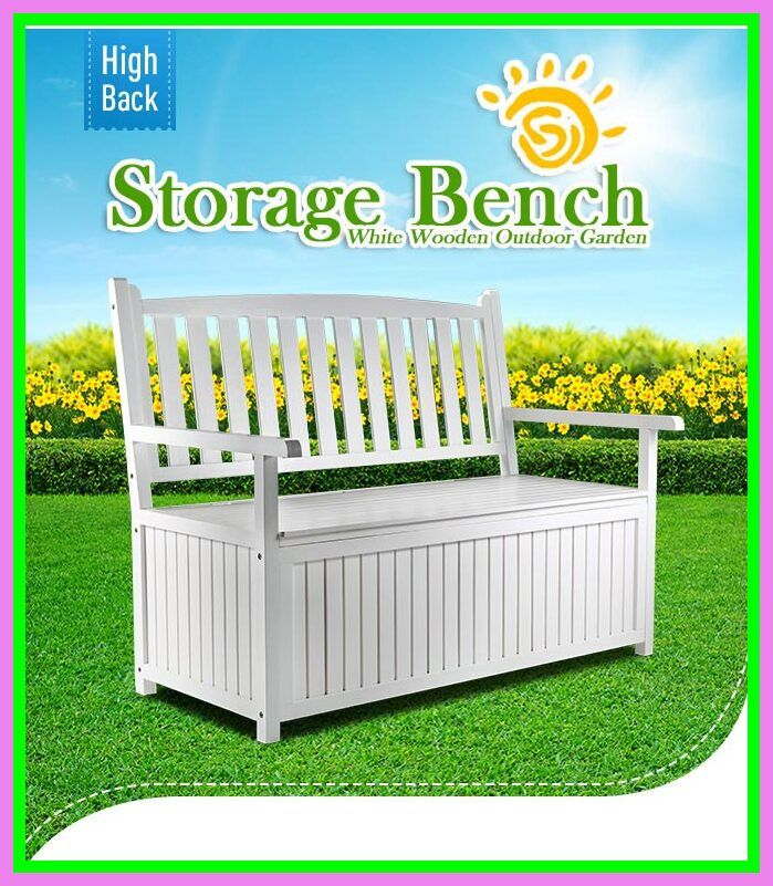 67 Reference Of White Outdoor Bench With Storage In 2020 White Outdoor Bench Outdoor Bench Outdoor Garden Bench