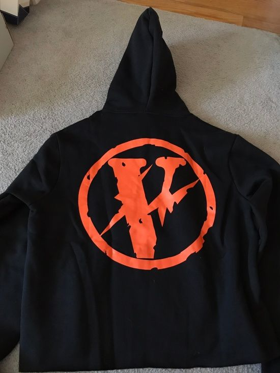 Vlone Vlone Fragment Hoodie Japan Release Size l - Sweatshirts & Hoodies for Sale - Grailed