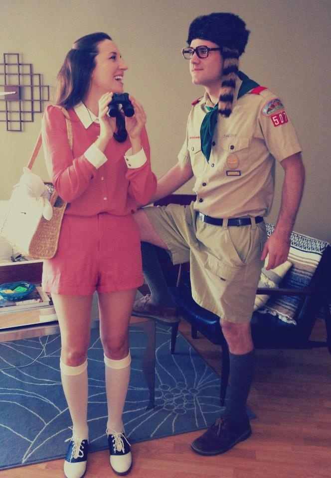 Our Halloween costume - Sam Shakusky and Suzy Bishop from Moonrise Kingdom.