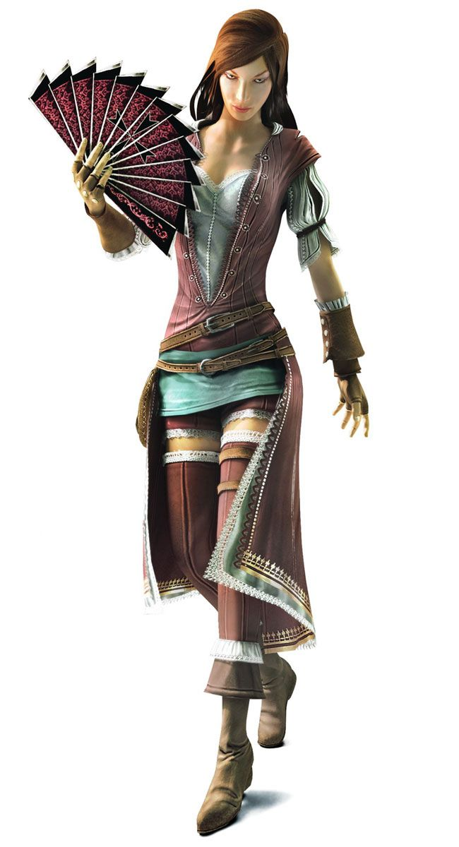 Assassin's Creed: Brotherhood Art & Pictures  Courtesan