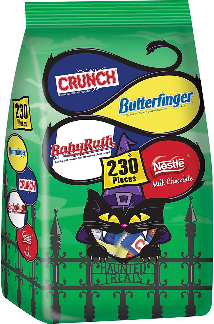 Nestle Assorted Bulk Chocolate Halloween Candy Bag